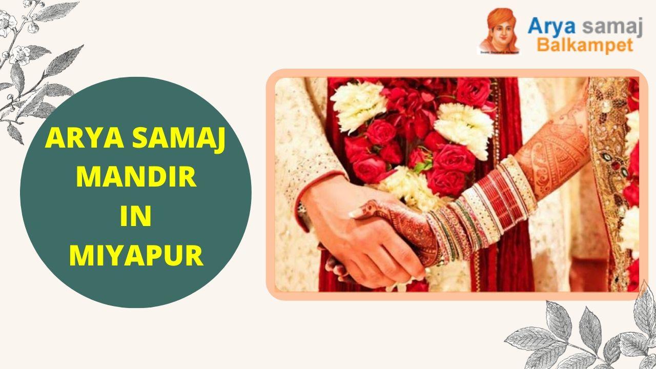Arya Samaj Mandir In Miyapur