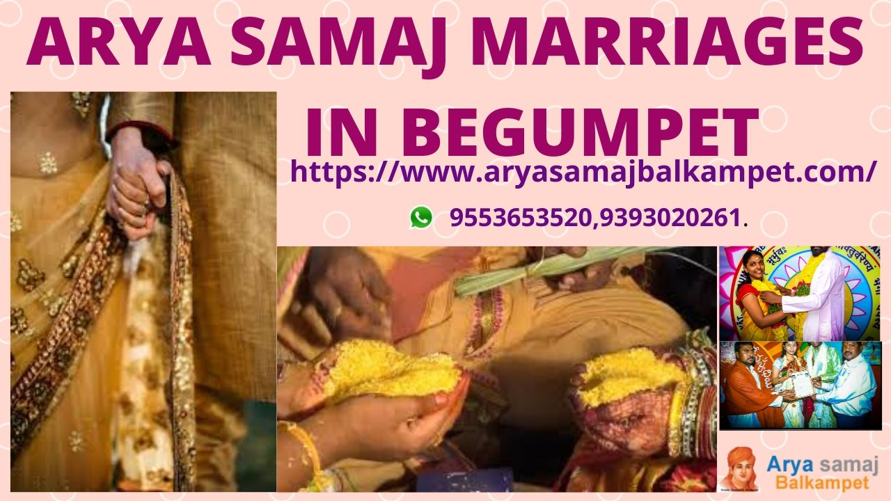 Arya Samaj Marriages In Begumpet Hyderabad