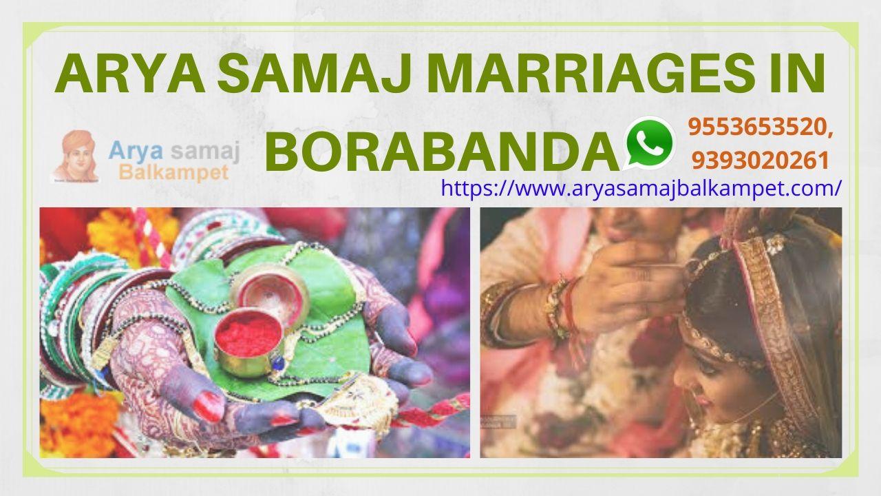 Arya Samaj Marriages In BorabandaHyderabad