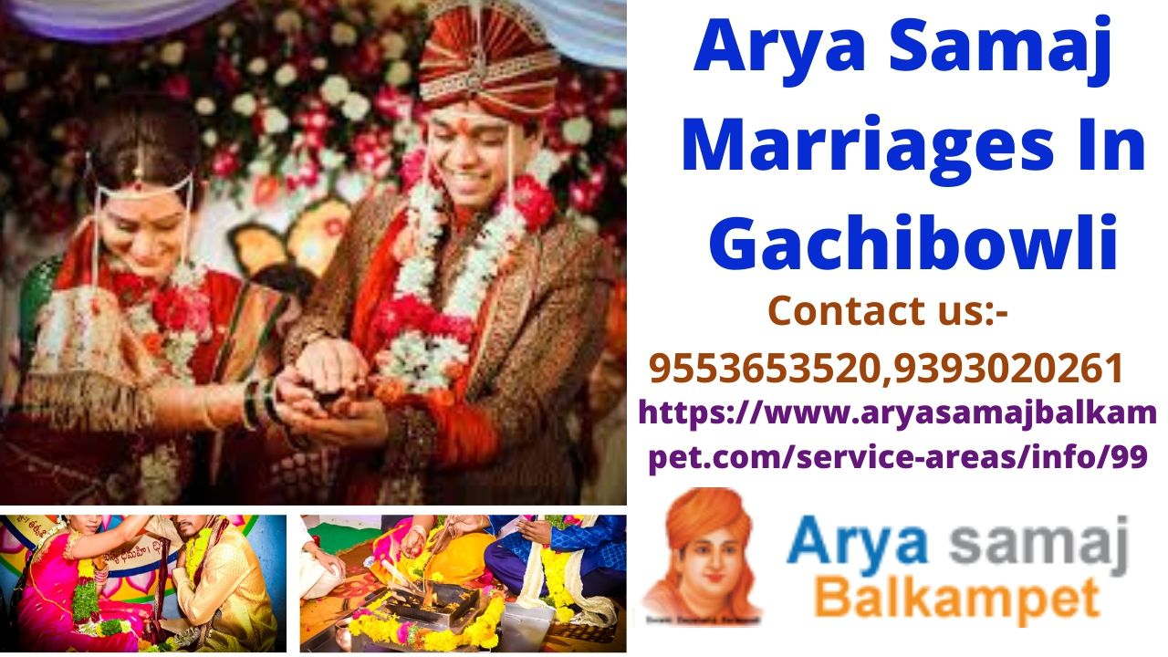 Arya Samaj Marriages In Gachibowli Hyderabad