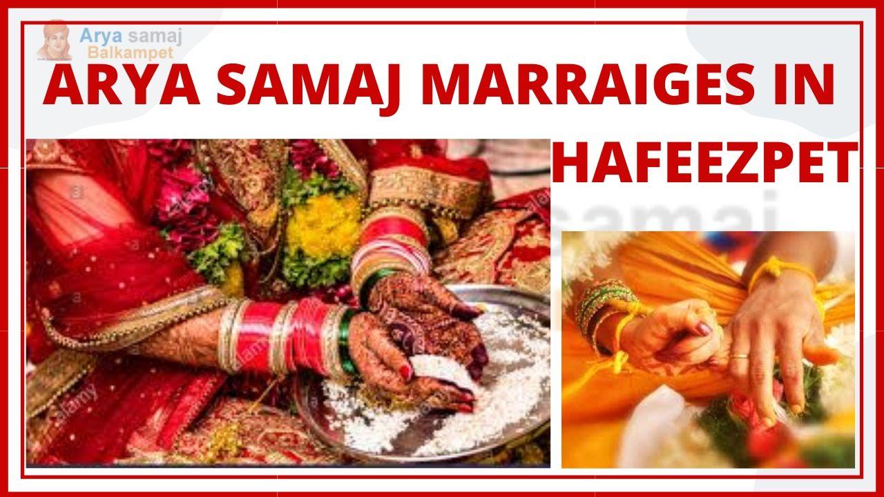 Arya Samaj Marriages In Hafeezpet Hyderabad