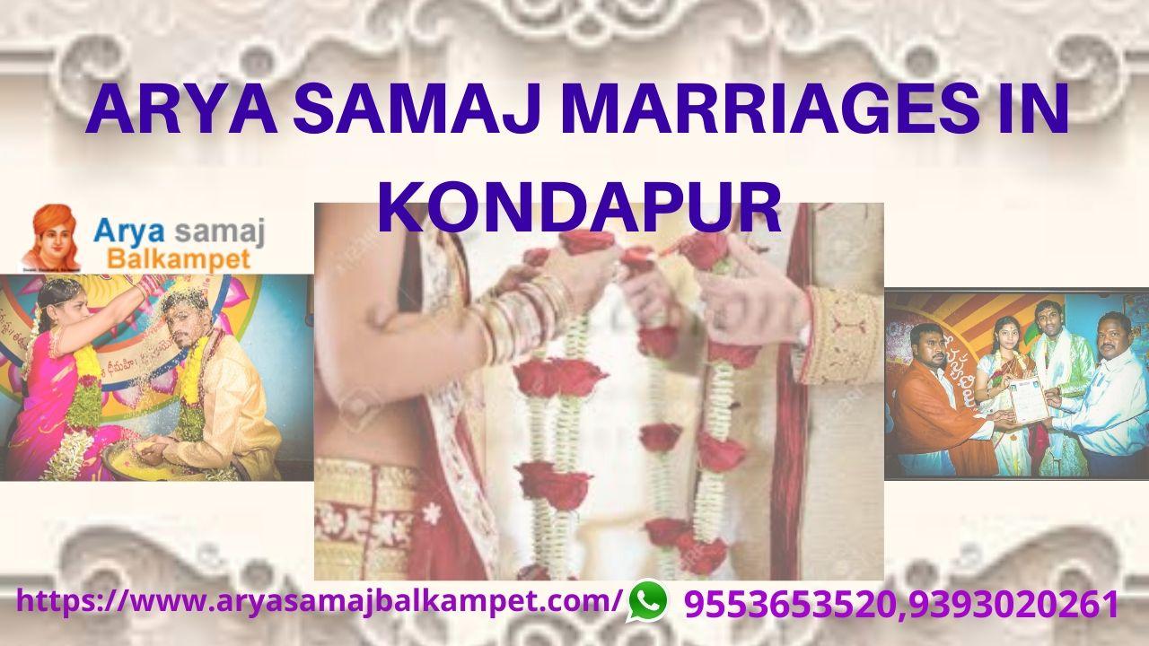 Arya Samaj Marriages In Kondapur Hyderabad